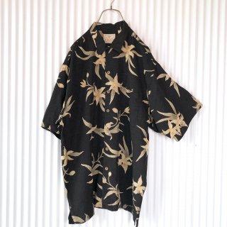 LUAU SILK BIGシャツ/百合