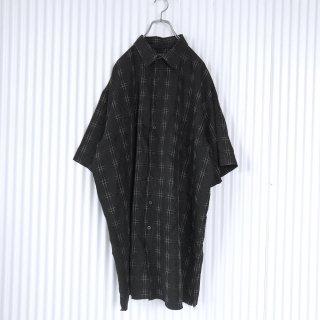 SYNRGY 擦れチェック BIGBIGシャツ