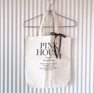 PINK HOUSE モノトーンリボントートバッグ