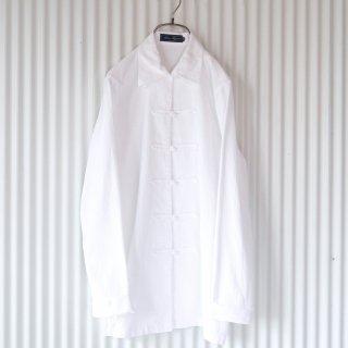チャイナボタンオーバーシャツ/France