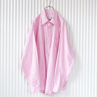 ピンクオックスフォードB.D BIGシャツ/USA