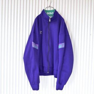 adidas トレフォイル太袖ヴィンテージトラックジャケット