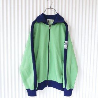 PUMA 袖ロゴ刺繍ヴィンテージトラックジャケット