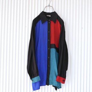 MARO's パネル切り替えデザインシャツ