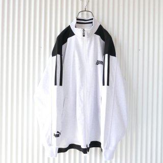 PUMA 袖ロゴ刺繍トラックジャケット