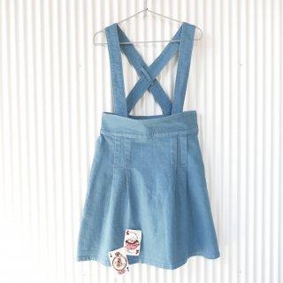 PINK HOUSE CHELSEA アリスのうさぎトランプ吊りスカート