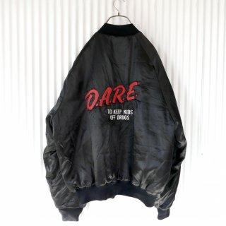 D.A.R.E 80's バック刺繍中綿ブルゾン