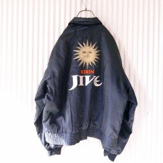 KIRIN JIVE 80's バック刺繍中綿ブルゾン