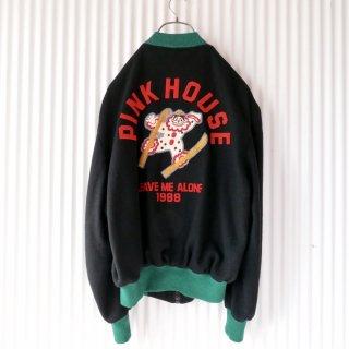 PINK HOUSE スキーピエロWOOLスタジャン/mens
