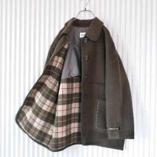 FLAMAND 丸み襟パイピング soft WOOLコート