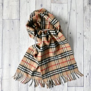 BURBERRY LAMB WOOL マフラー