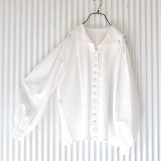 INGEBORG セーラーブラウス/White