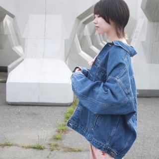 型押しHorse ゆるデニムジャケット/USA