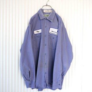 CiNTAS デザインワッペンワークシャツ