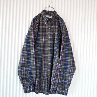 Mc GREGOR サマーチェックB.Dシャツ