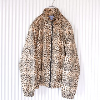 Leopard ジップブルゾン