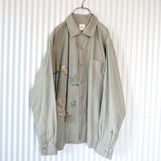 Karl Helmut Japanese embroidery シャツジャケット