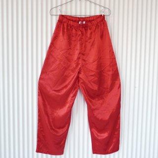Red satin パジャマパンツ