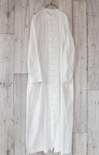 KANEKO ISAO フリルチャイナワンピース/white