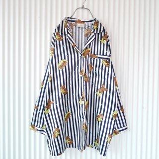 グッナイテディ Stripeパジャマシャツ