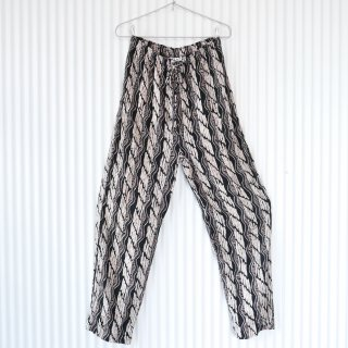 渋柄Rayon easy pants/USA
