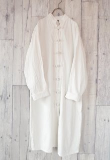 Cotton long チャイナシャツ
