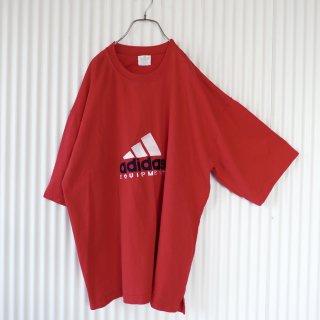 adidas ロゴ刺繍BIG Tee/XXL