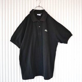 LACOSTE ワニさんワンポイントポロ/Black