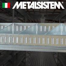 《メタルシステム》(パーツ)固定式仕切り8枚セット(W1277用)
