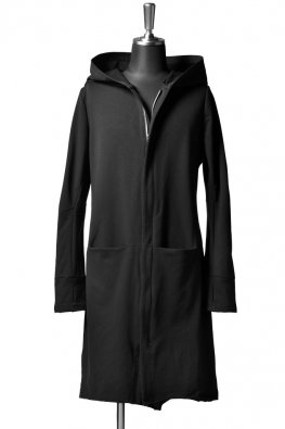 incarnation cotton elastic hooded lining / black