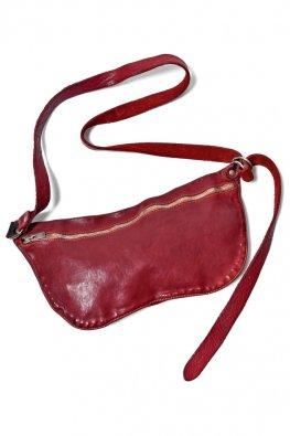 GUIDI Shoulder Bag Soft Horse Full Grain / Red