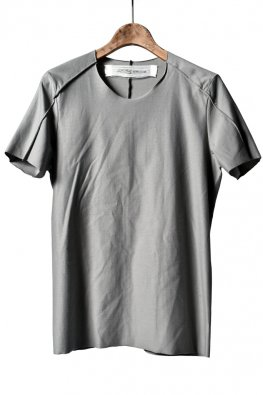 individual sentiments  short sleeve basic jersey / fade gray green