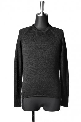 The Viridi-anne 7G-Paper Mix Knit Pullover