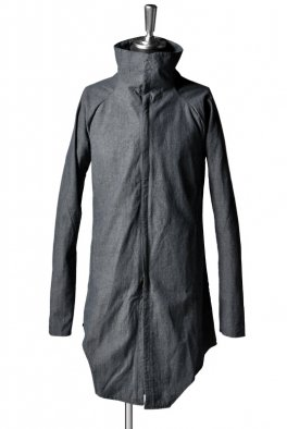 incarnation Cotton Shirt-Coat Zip Front