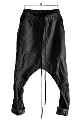 <img class='new_mark_img1' src='https://img.shop-pro.jp/img/new/icons8.gif' style='border:none;display:inline;margin:0px;padding:0px;width:auto;' />ARMY OF ME Drop Crotch Trousers Crinkled Dye