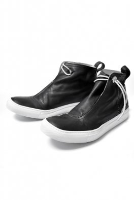 <img class='new_mark_img1' src='https://img.shop-pro.jp/img/new/icons8.gif' style='border:none;display:inline;margin:0px;padding:0px;width:auto;' />incarnation HORSE LEATHER WRAP FRONT MID SNEAKERS