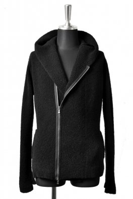 <img class='new_mark_img1' src='https://img.shop-pro.jp/img/new/icons23.gif' style='border:none;display:inline;margin:0px;padding:0px;width:auto;' />The Viridi-anne BOUCLE ZIP HOODIE