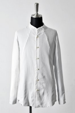 <img class='new_mark_img1' src='//img.shop-pro.jp/img/new/icons8.gif' style='border:none;display:inline;margin:0px;padding:0px;width:auto;' />nude:masahiko maruyama LOW-COLLAR SHIRT