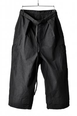 The Viridi-anne HIGH DENSITY WEATHER-CLOTH CARGO TROUSERS