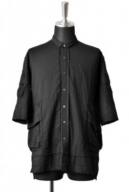 <img class='new_mark_img1' src='//img.shop-pro.jp/img/new/icons8.gif' style='border:none;display:inline;margin:0px;padding:0px;width:auto;' />The Viridi-anne OBJECT DYE HALF SLEEVE POCKET SHIRT