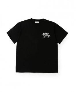 NIL DUE / NIL UN TOKYO  CORDA VUOTA TEE BLACK