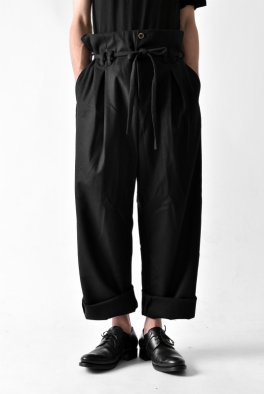 <img class='new_mark_img1' src='https://img.shop-pro.jp/img/new/icons23.gif' style='border:none;display:inline;margin:0px;padding:0px;width:auto;' />individual sentiments High Waist Wide Trousers