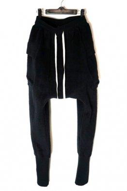 The Viridi-anne  両面起毛裏毛 Drop Crotch Pants