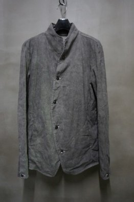 <img class='new_mark_img1' src='https://img.shop-pro.jp/img/new/icons8.gif' style='border:none;display:inline;margin:0px;padding:0px;width:auto;' />incarnation LINEN COTTON STRETCH BUTTON FRONT JACKET
