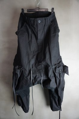 A.F ARTEFACT Military Sarrouel Wide Pants