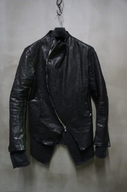 incarnation 10th Anniversary Vol,1 Carved Zip Calf Leather Blouson