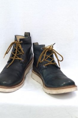 <img class='new_mark_img1' src='https://img.shop-pro.jp/img/new/icons8.gif' style='border:none;display:inline;margin:0px;padding:0px;width:auto;' />incarnation Horse Leather Ankle 4Hole #3 Lined Rubber Soles