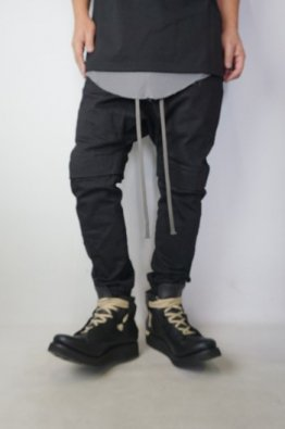 A.F ARTEFACT Sarrouel Easy Stretch Denim Pants