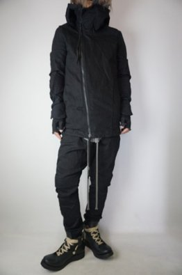 A.F ARTEFACT Stretch Switching Hoodie Blouson with Half gloves