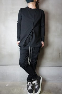 <img class='new_mark_img1' src='https://img.shop-pro.jp/img/new/icons8.gif' style='border:none;display:inline;margin:0px;padding:0px;width:auto;' />incarnation Cotton Elastic Tack Front Spiral Arm Long Sleeve